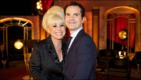Barbara Windsor and Jimmy Carr