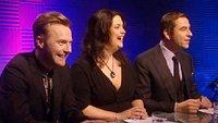 Ronan Keating, Ruth Jones and David Walliams
