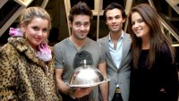 Caggie, Spencer, Mark and Binky