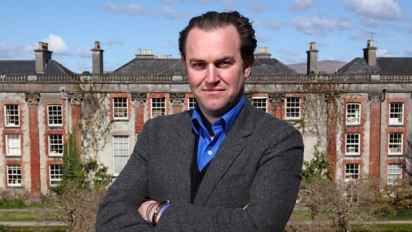 Country House Rescue presenter Simon Davis