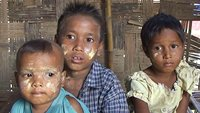 Orphan children in Burma