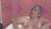 Father Ted in the bath