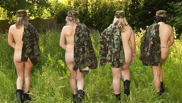 Фото голых военных жон