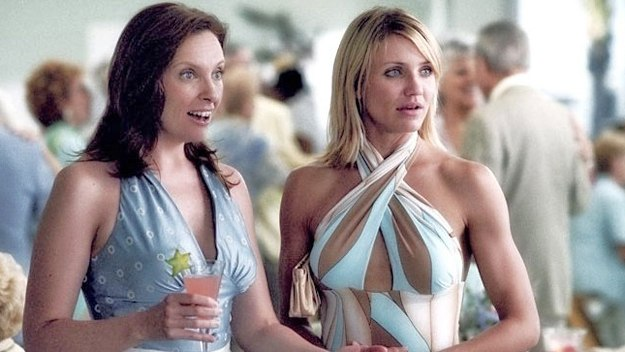 toni collette in her shoes. Cameron Diaz and Toni Collette