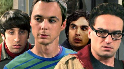 Howard, Sheldon, Raj and Leonard