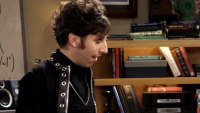 Howard Wolowitz as a goth