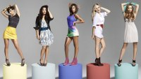 the saturdays: Frankie, Vanessa, Rochelle, Mollie and Una