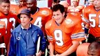 Adam Sandler as Robert 'Bobby' Boucher Jr in The Waterboy