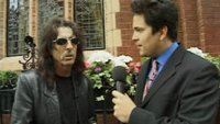 Alice Cooper and Dom Joly