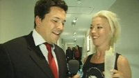 Dom Joly and Tamara Beckwith