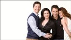 Jack, Karen, Will and Grace