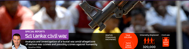 Click on the image above to read more of Channel 4 News' coverage on the Sri Lanka war