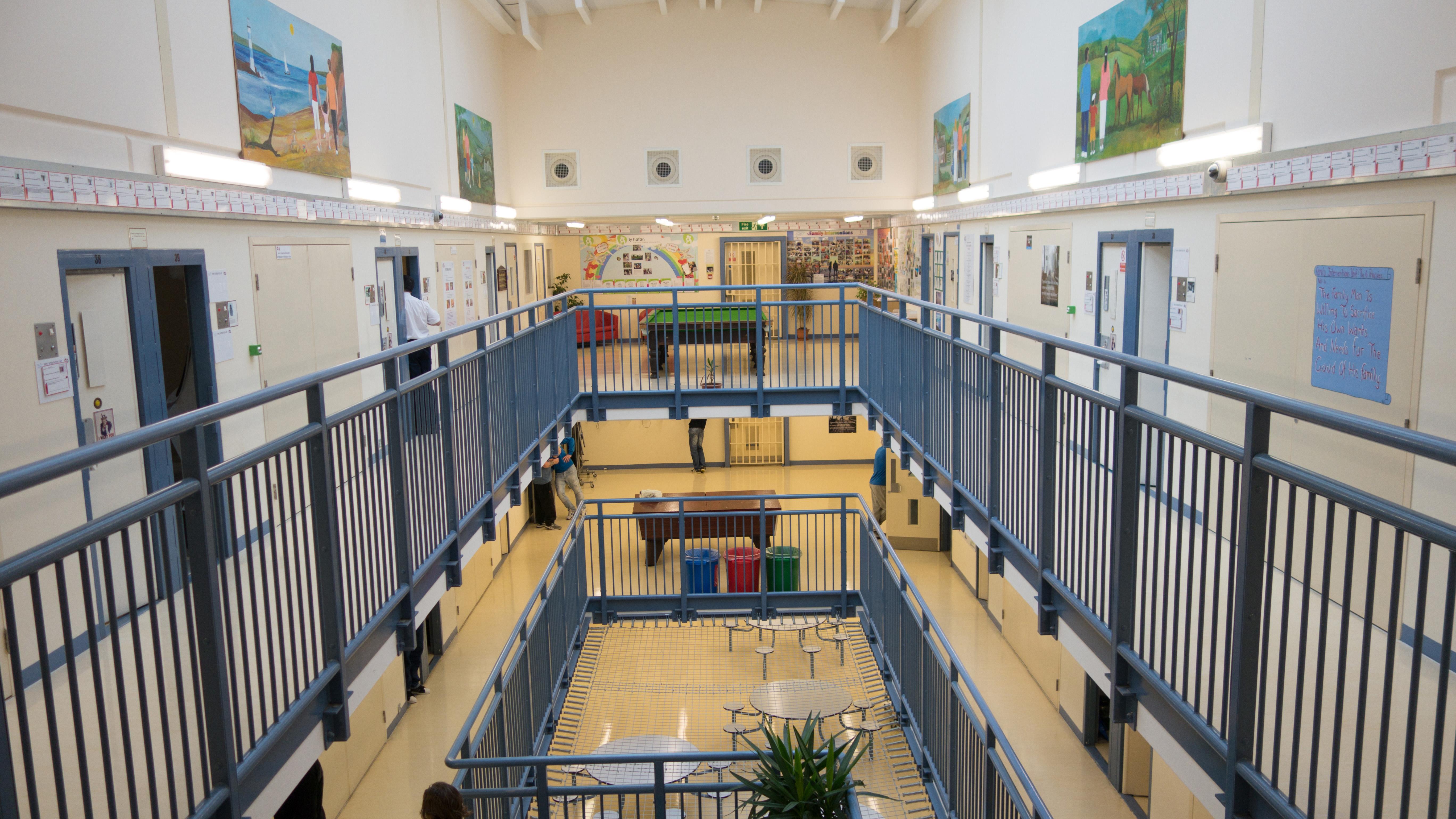 Inside Parc Prison