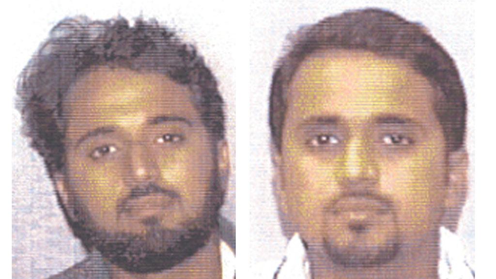Photos of Adnan el Shukrijumah released in 2004 (Reuters)