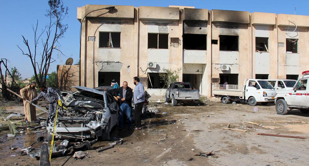 Libya bomb aftermath