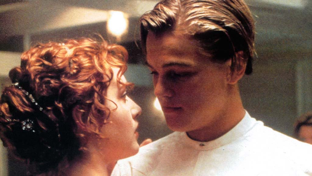 Helena Bonham Carter and Leonardo Di Caprio in Titanic (Getty Images)