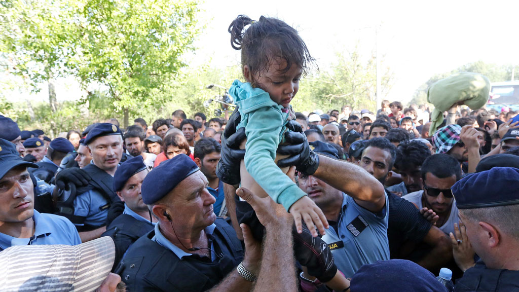Refugees and migrants in Croatia