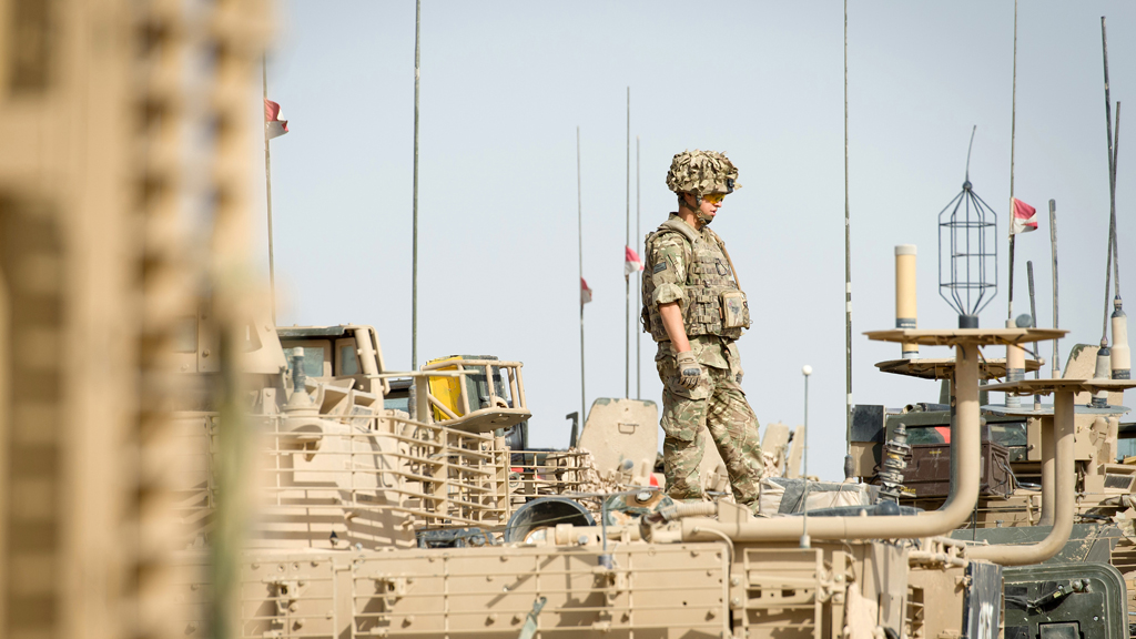 British troops end combat operations in Afghanistan