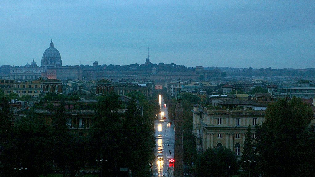 Rome blackout 2003 (Reuters)