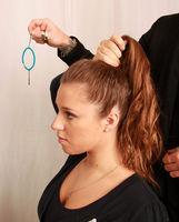 A still from 4Beauty's hair gallery: how to put a top knot in your hair