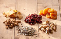 Nuts, seeds and dried fruit
