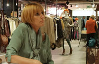 A still from Mary Portas's style tips video