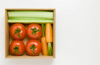A vegetable box