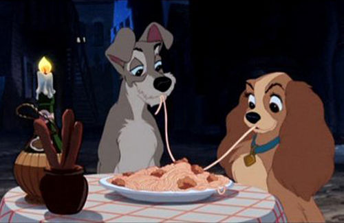 How to cook the ultimate Valentine's Day dinner. Lady and the Tramp