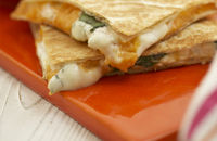 Anything goes quesadilla