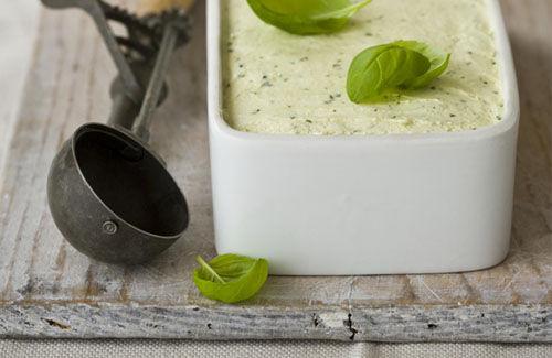 Basil Ice Cream Recipe — Dishmaps