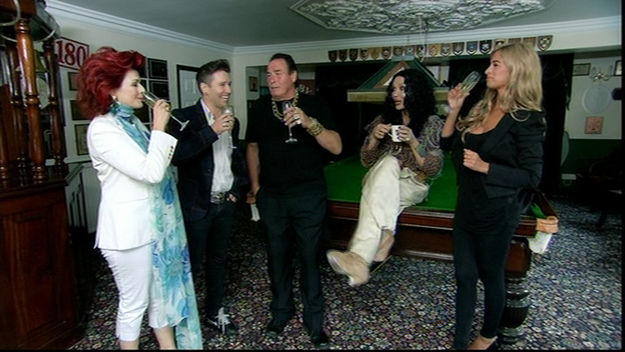 Celebrity Come Dine With Me: contestants