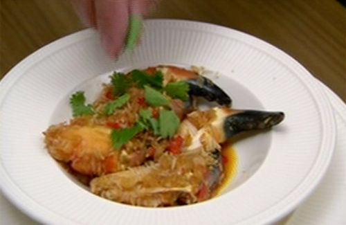 how to cook crab claws recipe
