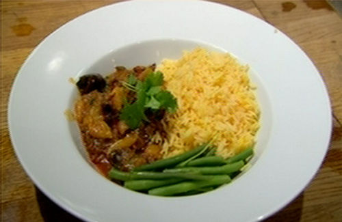 Moroccan lamb with saffron rice recipe - Channel4 - 4Food