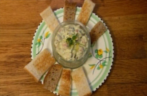 how to serve potted shrimps