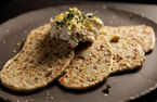 Flatbreads with lemon thyme ricotta