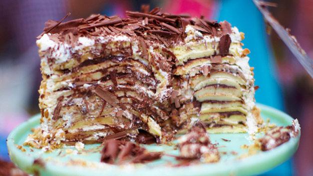 Торт панкейки рецепт