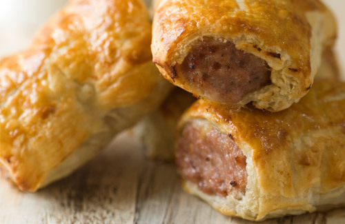 Recipes for sausage rolls