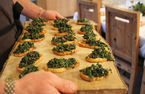 River Cottage Christmas: Kale crostini