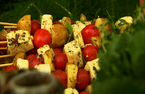 River Cottage Veg: Halloumi kebabs
