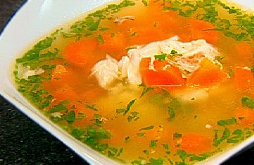 how to cook chicken breast for soup