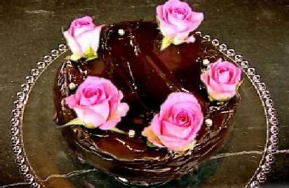 Cook Yourself Thin Chocolate Cake