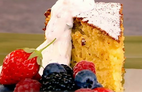 Low Calorie Rice Cake Recipes: Low-calorie Lemon And Almond Cake Recipe