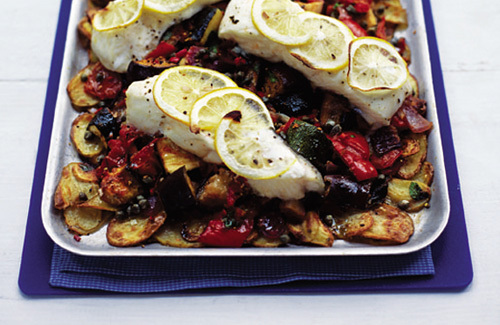 how to bake halibut fish