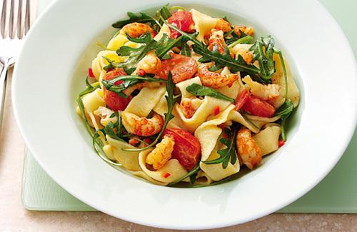 Creamy Saffron Mussel And Spinach Pasta Recipes — Dishmaps