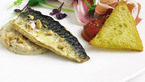 Confit mackerel fillet