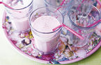Fruity milkshakes