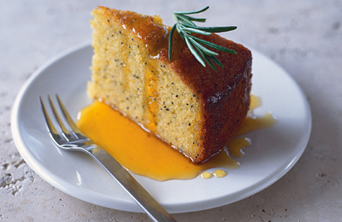 Polenta Cake Recipe With Bananas Recipe — Dishmaps