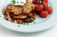 Potato and celeriac pancakes
