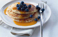 Rich breakfast pancakes