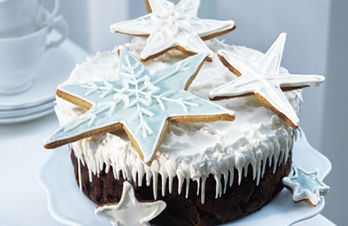 Star Ginger Molasses Cake Recipes